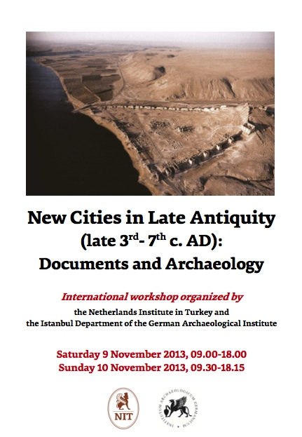 New Cities in Late Antiquity