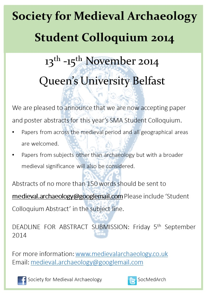 Poster Call for Papers QUB 2014