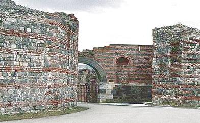 Il palazzo di Galerio a Felix Romuliana (Foto: Wikipedia)