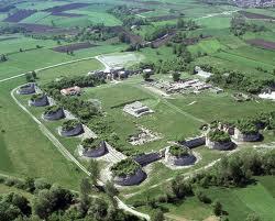 Visione aerea del sito di Felix Romuliana (Foto: topoi.org)