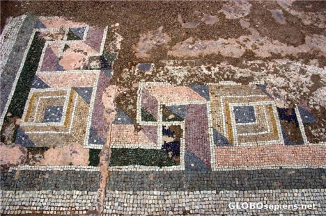 Uno dei mosaici palaziali di Felix Romuliana (Foto: Globosapiens.net)