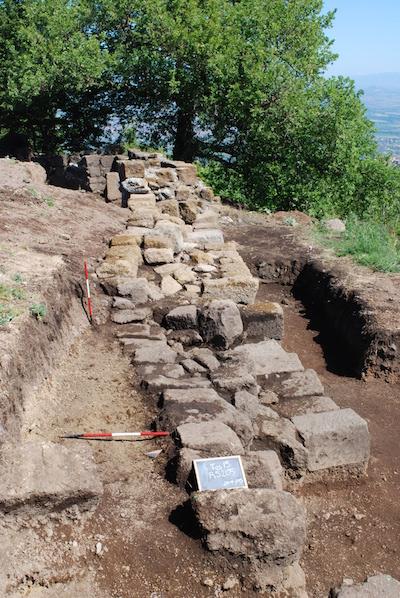Yacimiento arqueol¢gico de Tusculum