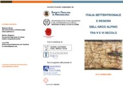 ITALIA SETTENTRIONALE E REGIONI DELL'ARCO ALPINO TRA V E VI SECOLO