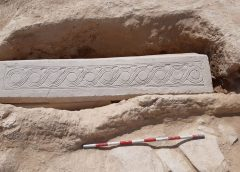Rinvenuto un sarcofago visigoto nella Villa Romana di Los Villaricos de Mula